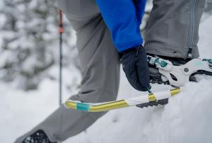 Alzatacchi per racchette da neve
