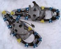 Racchette da neve canadesi, con armatura in alluminio