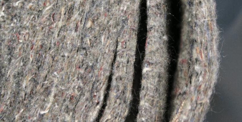 Feltro ottenuto dalla lana