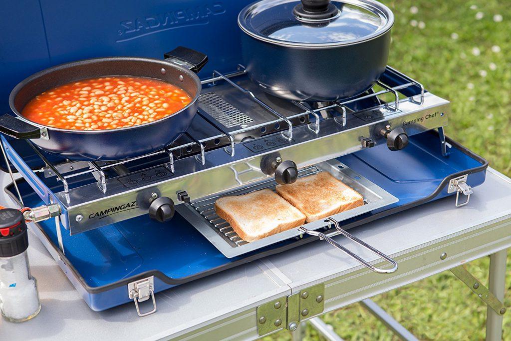 Il fornello da campeggio la guida il trapper - Migliore cucina a gas ...