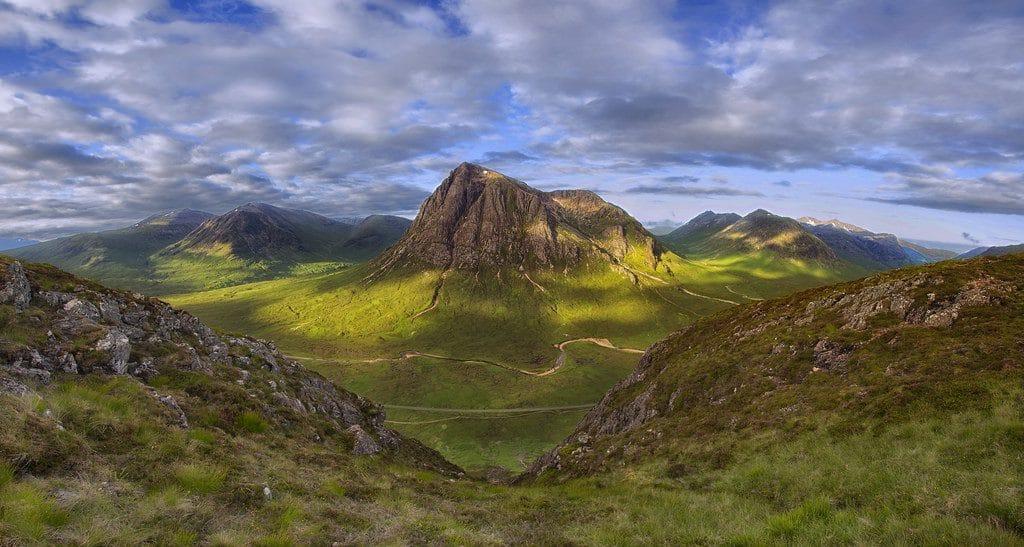 Montagne Scottish Highlands