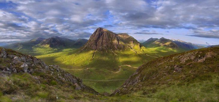 Trekking sulle Scottish Highlands