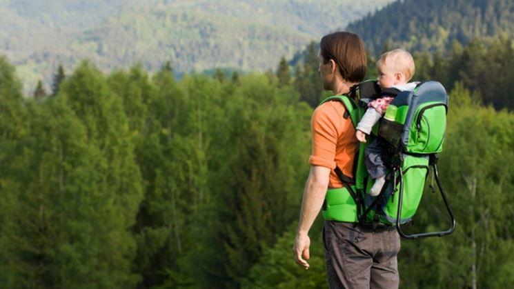 Zaino portabimbi per trekking