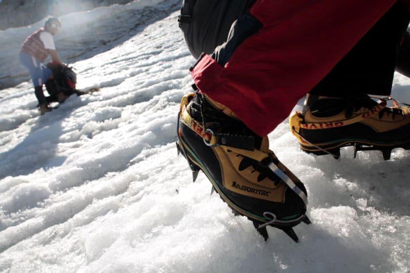 Ramponi su neve