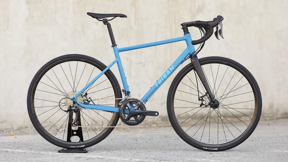 triban rc500 azzurra