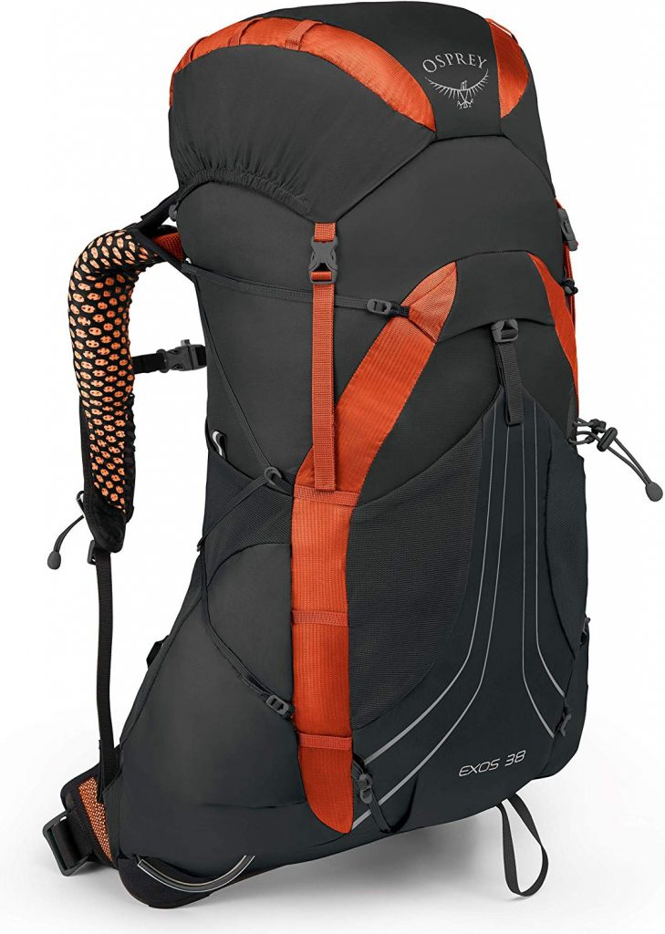 Zaino trekking cammino di Santiago: Osprey Exos