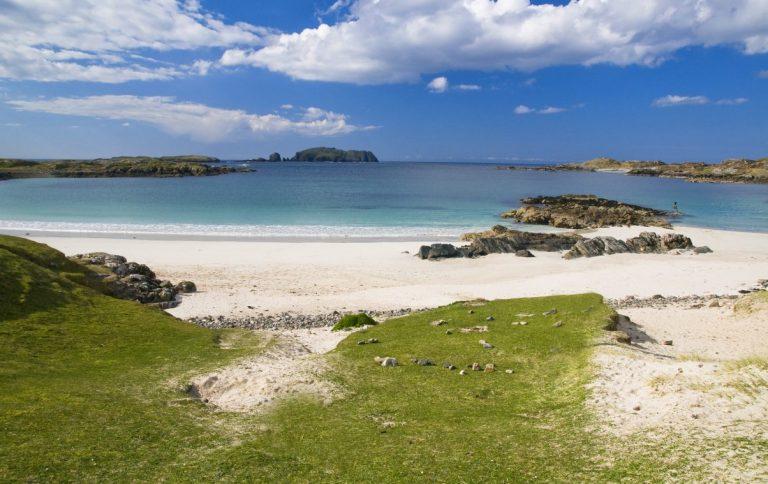 Spiaggia su Hebridean Way